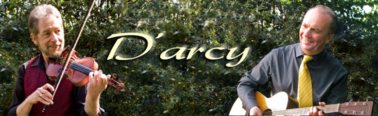 D'Arcy Duo, the fiddle and guitar duo for weddings and all other events